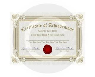 Carl's Certificate